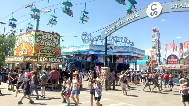 Calgary Stampede outlines plans for safe return amid lingering COVID-19 pandemic   CBC News