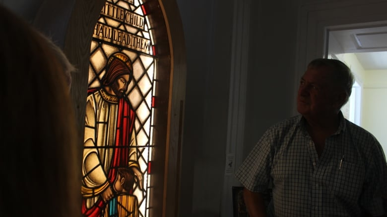 442c234fbf74 Donation of stained glass window brings family together   CBC News