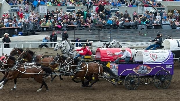Calgary Stampede Rangeland Derby Wrap Day 2 Cbc Sports