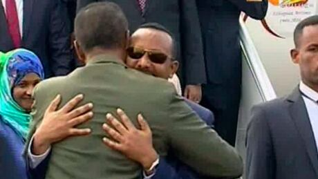 Ethiopia Eritrea Historic Meeting