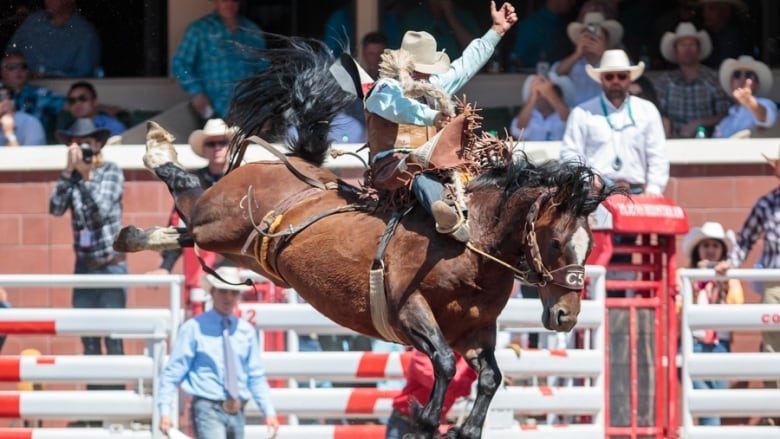 Cody Demoss Was One Of Four Pool A Saddle Bronc Riders To