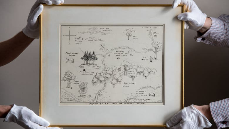 Original map from Winnie-the-Pooh sells for record-breaking £430,000