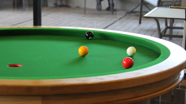 University Of Waterloo Brings St Elliptical Pool Table To Math - Games to play on a pool table