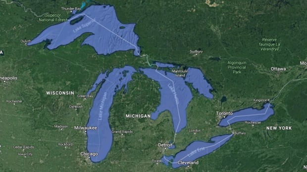 Why a sudden spike in the temperature of the Great Lakes has scientists worried | CBC News