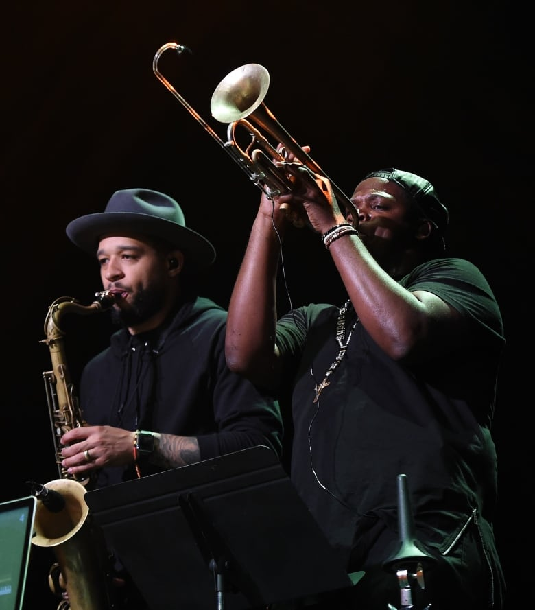 Jazz trumpeter Keyon Harrold is poised to become one of the greats