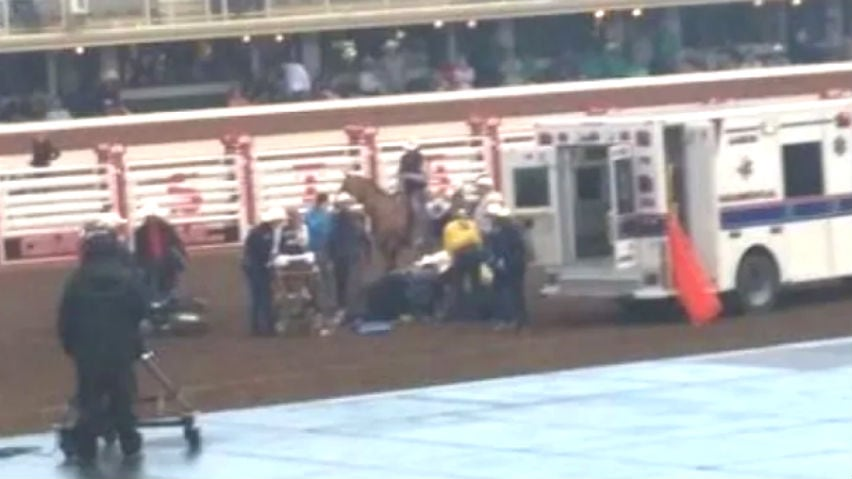 Injured Stampede chuckwagon driver says 'it's part of the