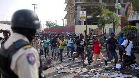 Haiti Fuel Protests