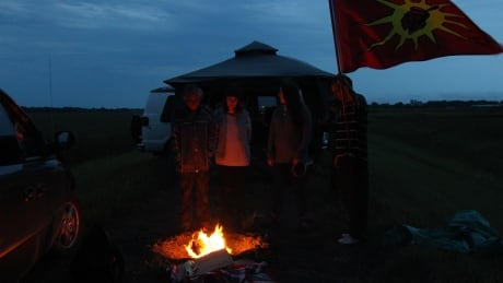 Indigenous protesters camp on Manitoba-U.S. border to try to stop Enbridge Line 3 pipeline replacement
