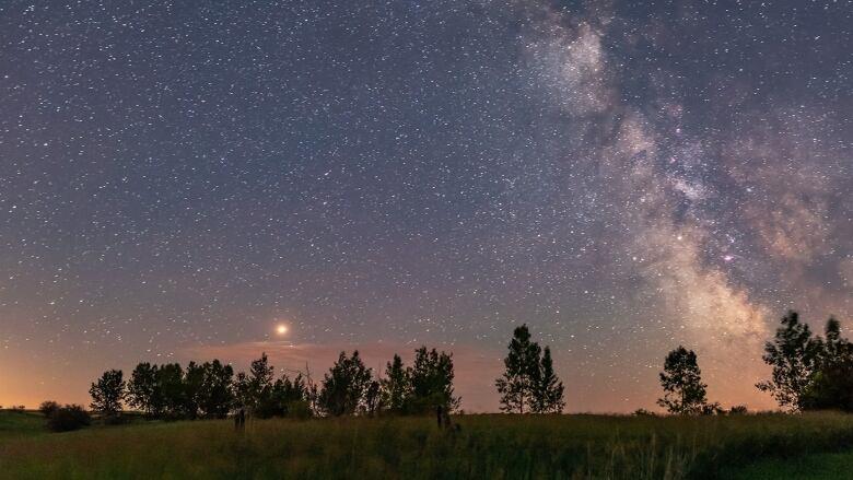 mars dominates the july night sky cbc news