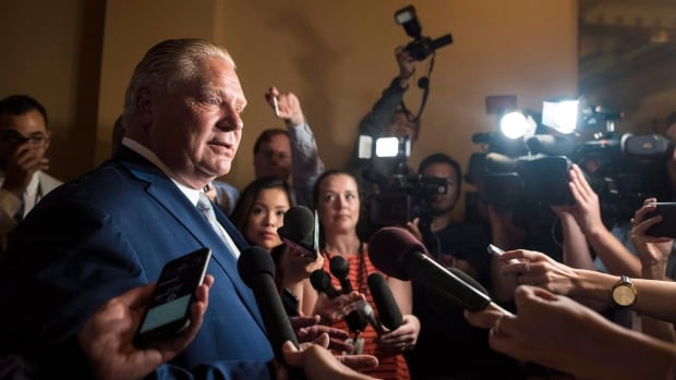 Trudeau praises letter by Toronto MPs calling on Ontario MPPs to defeat Ford's city council bill | CBC News