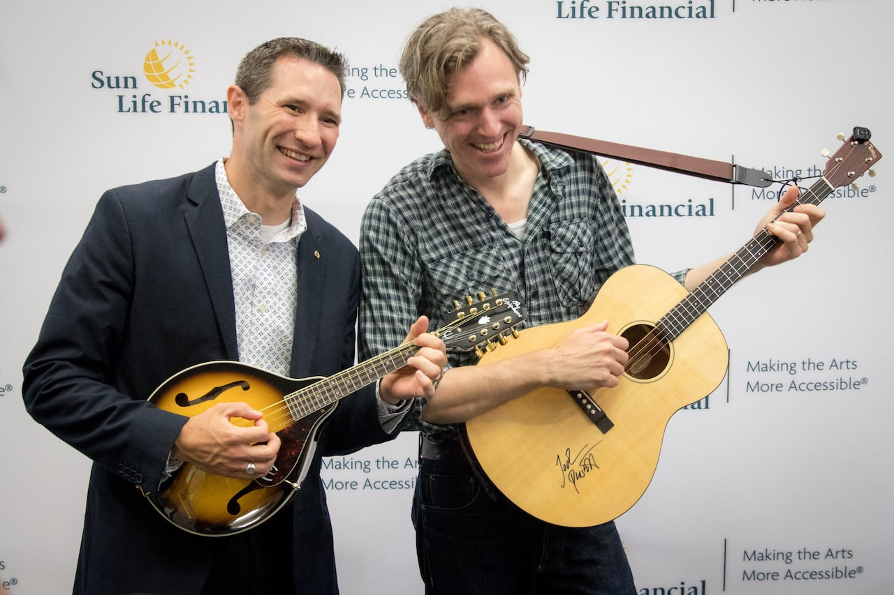 You can now borrow musical instruments at Halifax-area
