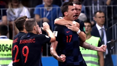 Croatia to play in 1st World Cup final after extra-time win over England
