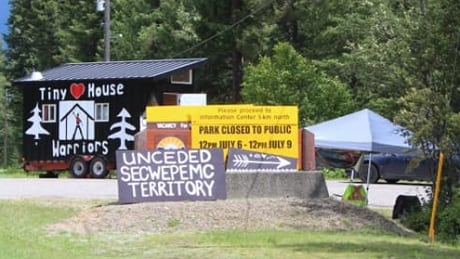 Secwepemc First Nation's 'Tiny House Warriors' occupy provincial park in Trans Mountain protest