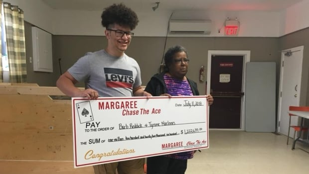 'See you in court' aunt tells nephew after $1.2-million Chase the Ace win | CBC News