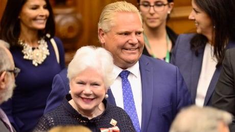 Ontario throne speech Doug Ford Elizabeth Dowdeswell