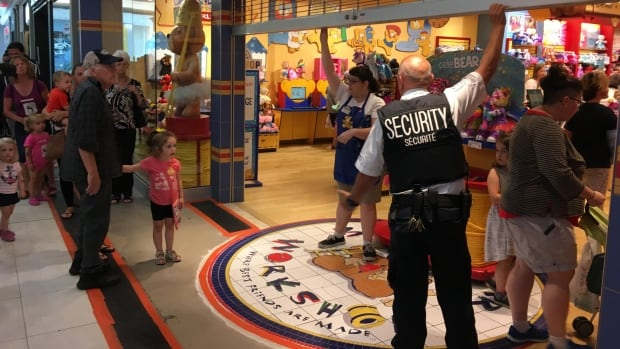 Lines cut off at Build-A-Bear after 'pay your age' promo proves too popular | CBC News