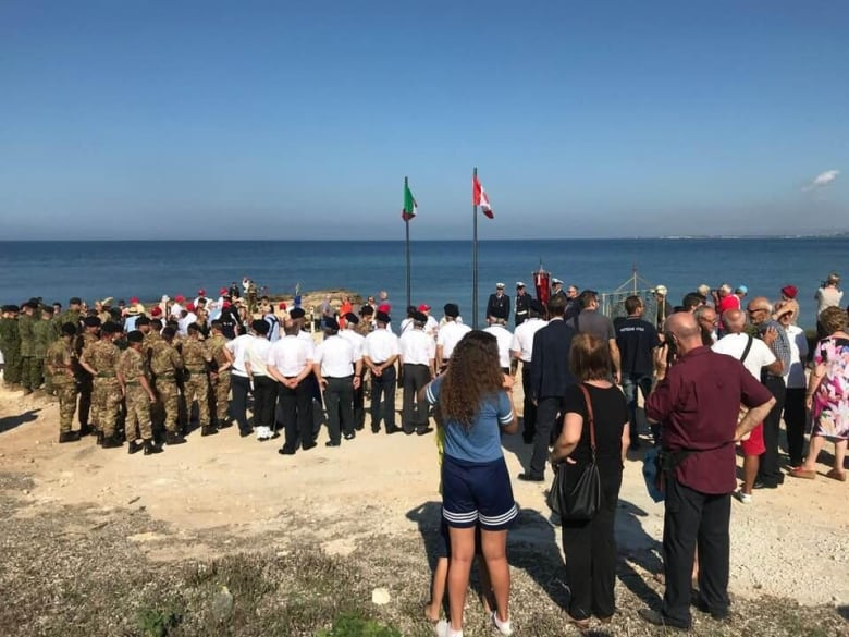 Canadians trekking across Sicily to commemorate fallen WWII soldiers