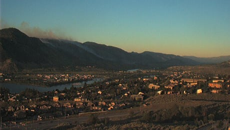 Lightning could spark wildfires in B.C. Interior Friday afternoon