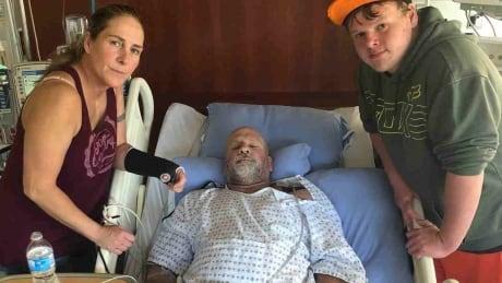 Flesh-eating disease leaves Langley, B.C., man fighting for life