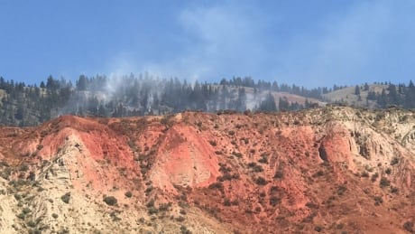 545-hectare Kamloops fire under control but still burning, says B.C. Wildfire Service