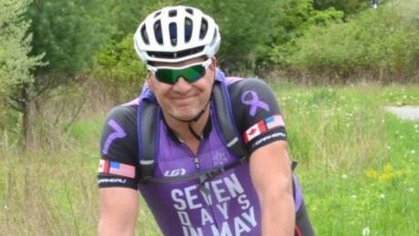 Ghost ride honours cyclist killed during bikeathon near Kingston