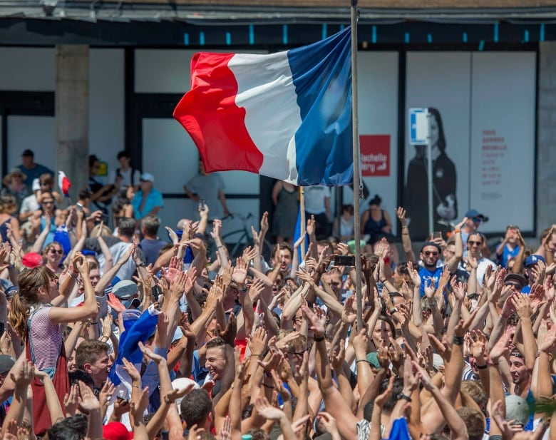 Parties on Canadian streets after French World Cup win
