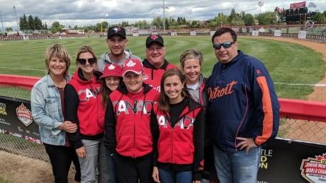 Heartbreak and home runs: Emotional end to world softball championship in Prince Albert, Sask.