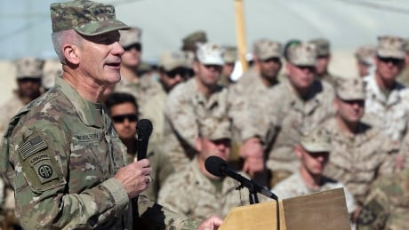 U.S. willing to be part of Afghanistan talks with Taliban, NATO commander says