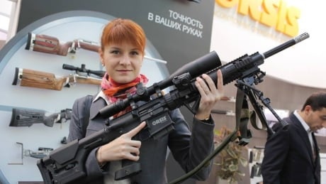 Maria Butina foreign agent arrest