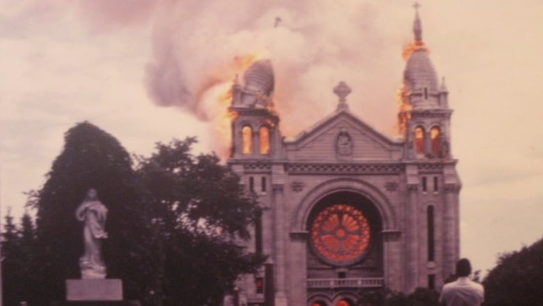 absolute horror witnesses cried as fire consumed st boniface