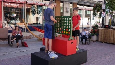 Remaking Sparks: Fresh ideas for pedestrian mall get test run | CBC