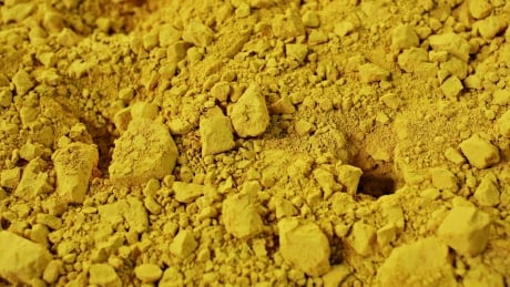 Uranium yellowcake