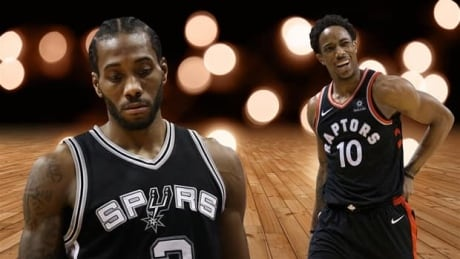 What's the risk in the DeRozan-Leonard trade?