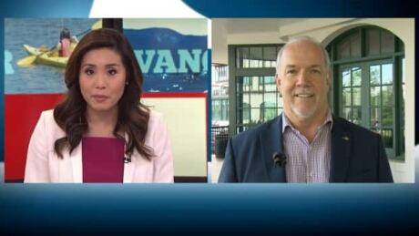 1 year in, B.C. Premier Horgan says economy is still on the right track
