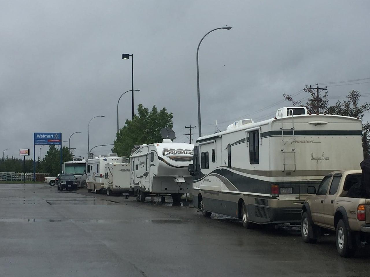 No more free camping at Whitehorse Walmart | CBC News