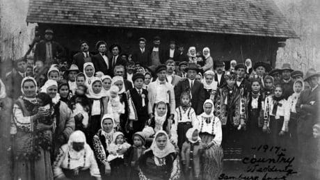 ukrainian wedding saskatchewan 1917 archival photo settler immigrants
