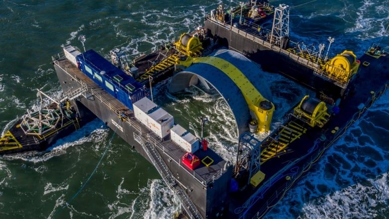 Bay of Fundy tidal turbine faces uncertain future as company