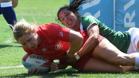 Canada Women's Rugby QF Loss Rugby World Cup Sevens