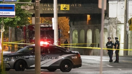 Homicide Broadview and Eastern Avenues