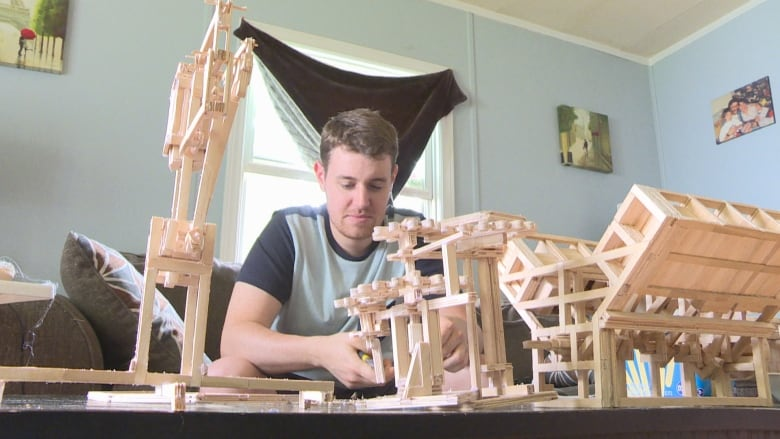Artist Builds Everything From A Cat Castle To Engines Out