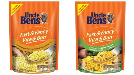 Uncle Ben's collage