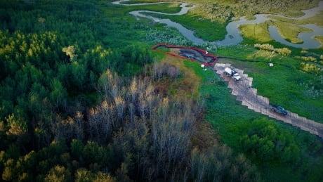 Husky salt water leak Saskatchewan