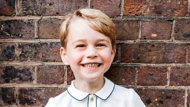 Prince George portrait released as royal turns 5
