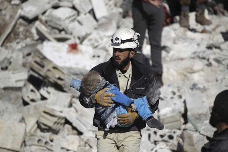 Syria denounces White Helmet rescue as  criminal operation   6230c585f