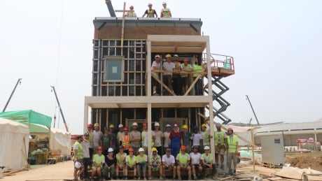 These Montreal students have 22 days to build an energy-efficient home in China