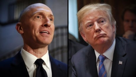 Carter Page and Donald Trump