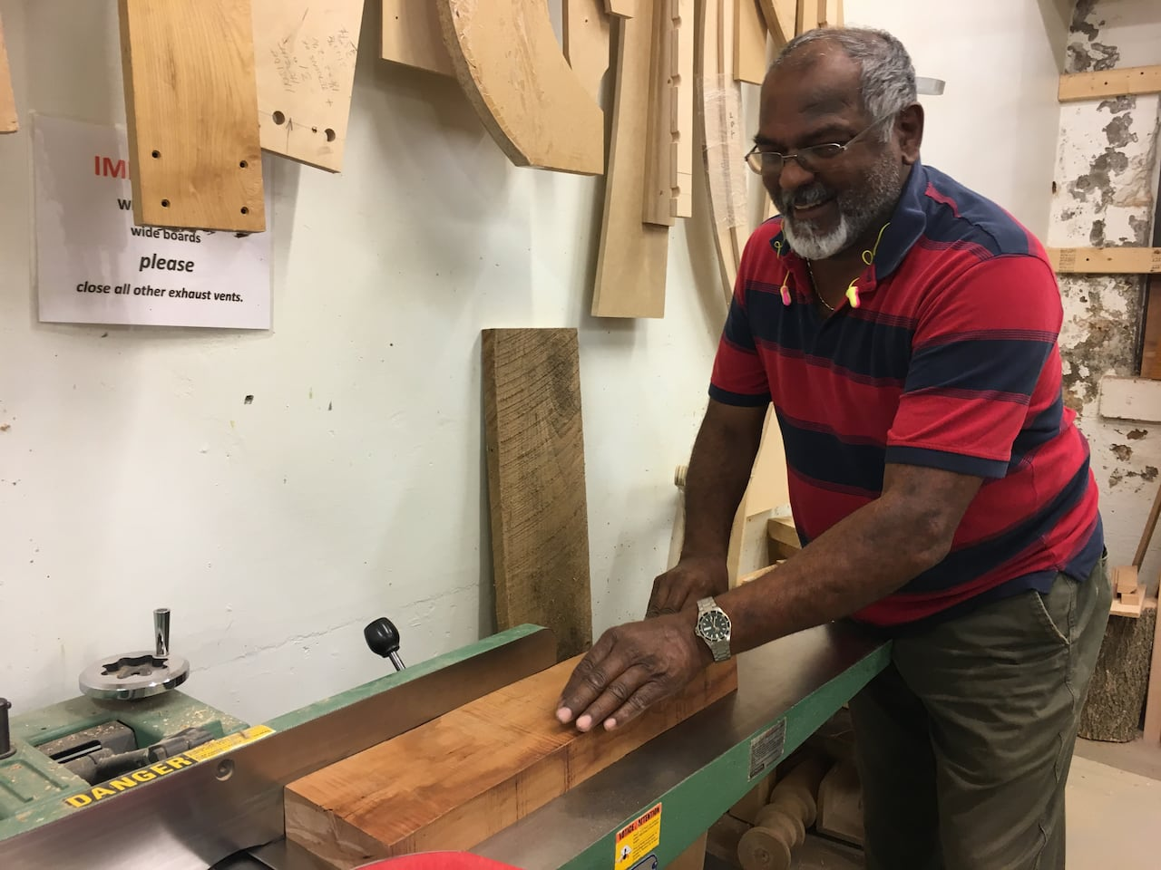 cambridge woodworking club gives seniors a chance to connect