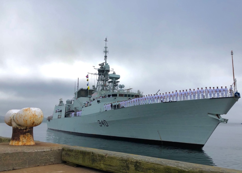 st john s return - Mouldy mattresses plague Canadian warships