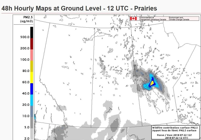 Wildfire Smoke Map Handy For Albertans This Summer Meteorologist
