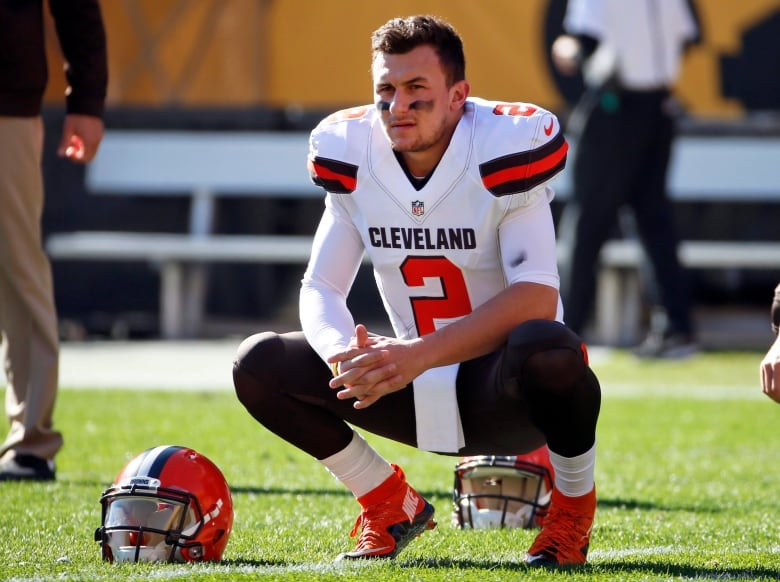 Then-Cleveland Browns quarterback Johnny Manziel was let go from his contract in March 2016